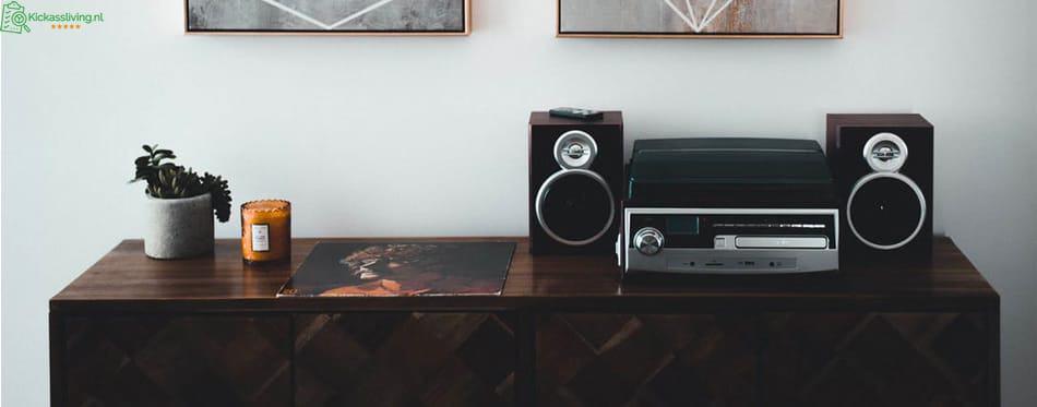 Wat zijn boekenplank speakers?