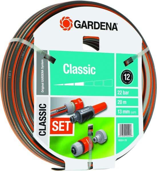 GARDENA Classic tuinslang met aansluitarmaturen 13 mm (1/2) 20 m