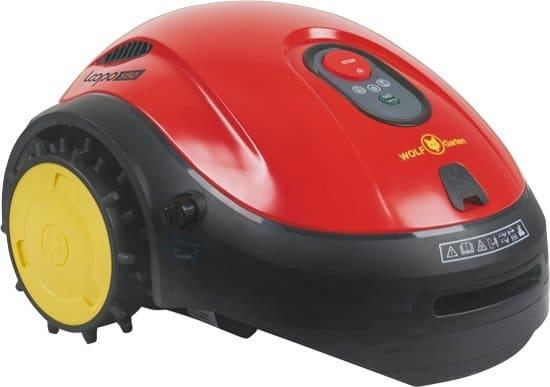 WOLFGarten LOOPO S150 Robotgrasmaaier Zwart, Rood, Geel Batterij/Accu