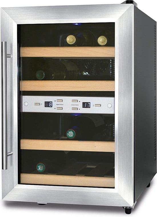 CASO WineDuett 12 - Wijnklimaatkast - 12 flessen