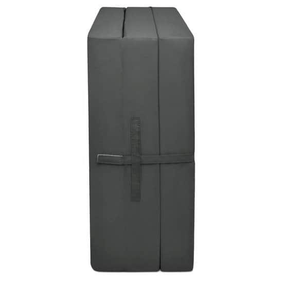 Beautissu Vouwmatras met schuimstofvulling 190x60cm antraciet