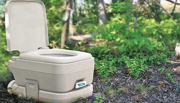 beste camping toilet