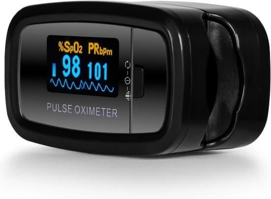 Contec CMS50D1 Saturatiemeter Professioneel Beste Getest - Zwart