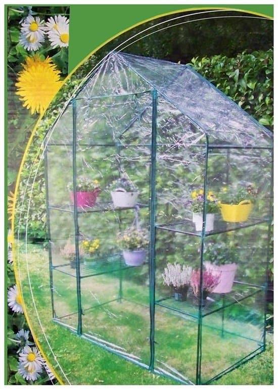 Lifetime Garden Walk in broeikas 140x72x195