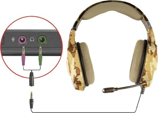 Trust GXT 322 Carus - Gaming Headset voor PS4, PS5, Xbox Series X en PC - Desert Camouflage